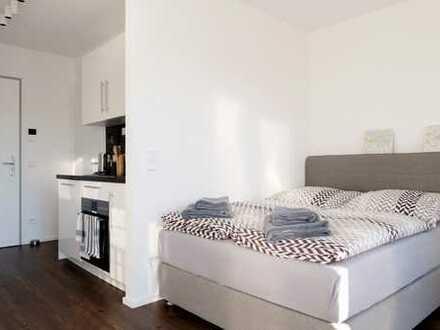 Erstbezug: Schöne, voll möblierte 1-Zimmer-Wohnung in München, Schwabing