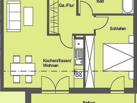 Erstbezug: Exklusive 2-Zimmer-Wohnung mit EBK und Balkon in Abensberg