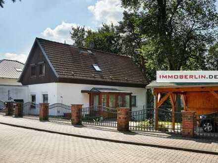 IMMOBERLIN: Seeblick! Charmantes Einfamilienhaus beim Großen Däbersee/Strandbad
