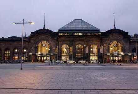 Renovierungsbedürftige Bürofläche im Bahnhof Dresden Neustadt