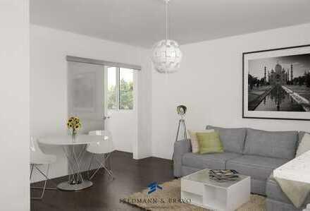 Erstbezug nach Renovierung Hochparterrewohnung in ruhiger Wohnlage mit Balkon