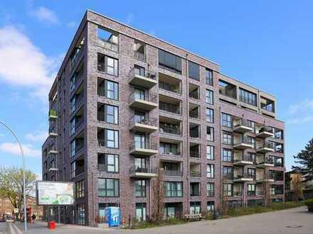 Neubau! Schöne und gut geschnittene 2-Zimmer-Wohnung mit 2 Balkonen in der Nähe vom Stadtpark
