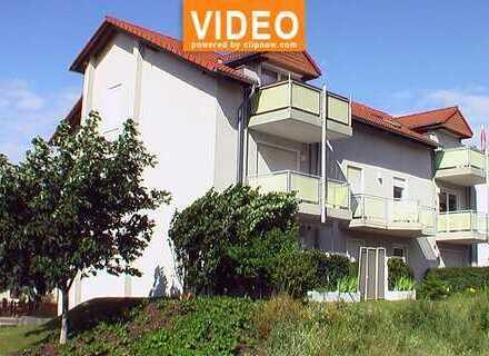 Schöne, ruhige Waldrandlage! 2-Zimmer-Wohnung mit Balkon, Laminat im Stadtteil Döbbrick