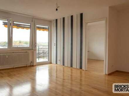 Gepflegte, helle 2 Zimmer Wohnung mit tollem Ausblick in ruhiger Wohnlage