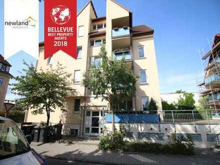 3-Raum-Wohnung mit Balkon in Leipzig-Engelsdorf!