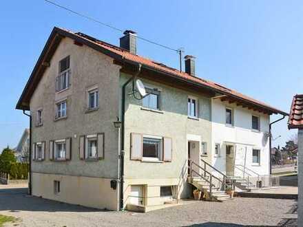 Renovierte Doppelhaushälfte in einem Ortsteil von Isny i.A.