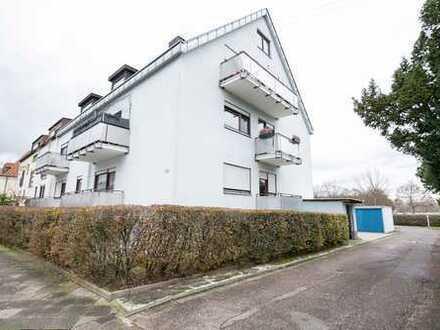 Schöne 2 Zimmer-Wohnung in Knielingen mit Einbauküche