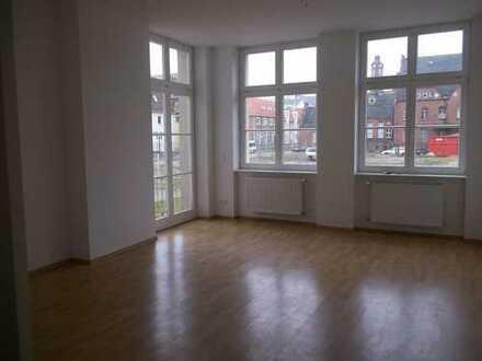 Gepflegte 3-Raum-Terrassen-Wohnung,hell+ruhig,neuwertig saniert in der City