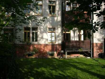 verschiedene zimmer in Jugendstilwohnung am Kaßberg