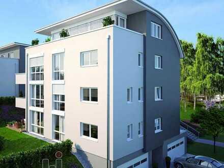 Stadtvilla Cité: Bestens ausgestattete Penthouse-Wohnung mit Einbauküche in ruhiger Wohnlage!
