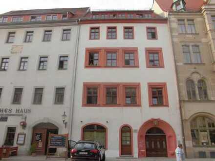 Im Stadtzentrum Freibergs
