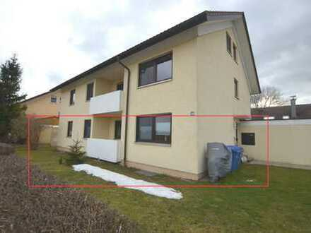 Langjährig vermietete 4,5 Zimmer-Erdgeschosswohnung mit eigenem Garten in Biberach-Rindenmoos