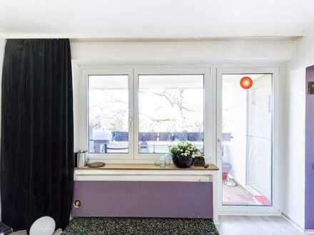 Schöne helle Eigentumswohnung mit einem Balkon
