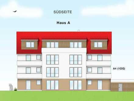 Komfortable, barriere-arme und moderne 3 1/2 Zimmer ETW (A4) im 1.OG mit Südbalkon in Ittlingen