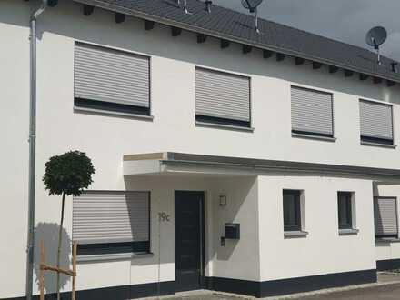 Erstbezug: attraktives Reihenhaus mit fünf Zimmern in Biessenhofen, Ebenhofen mit Entkalkungsanlage