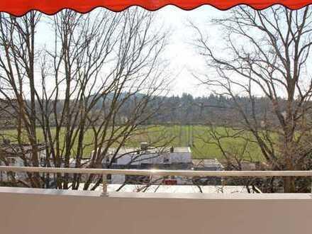 HEGERICH: Wundervoll sanierte 3-Zimmer-Wohnung mit Blick in den Wiesengrund!