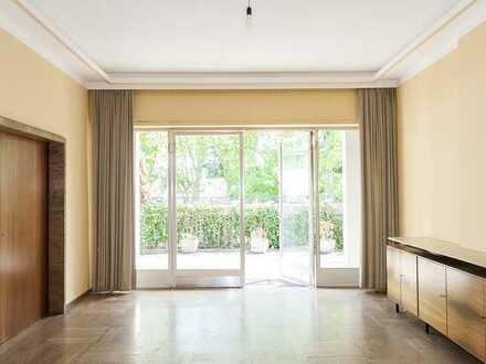 5-Zimmer-Altbauetage in einer Villa im Komponistenviertel
