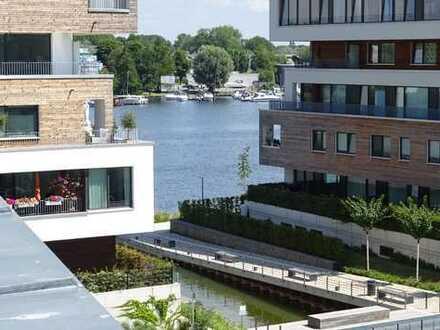 Bezugsfreies Penthouse am Wasser, mit großer Sonnenterrasse, Erstbezug!
