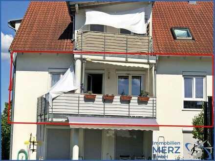Vermietete Eigentumswohnung mit West-Balkon in ruhigem Wohngebiet von Herrenberg