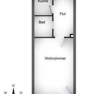 ruhig gelegenes Apartment (Innenhoflage) mit guter Infrastruktur