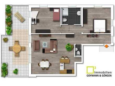 Neubau- Terrassenwohnung in sehr guter Lage