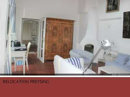 * Fully furnished * Herrliches Gartenhaus in Bogenhausen voll möbliert