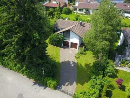 Einfamilienhaus mit großem Grundstück in toller Lage von Isny-Neutrauchburg