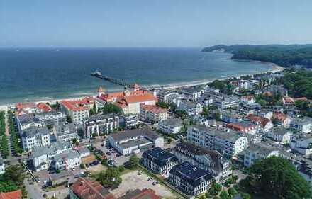 Strandpromenade: 1-Zimmer-Wohnung mit Ostseeblick
