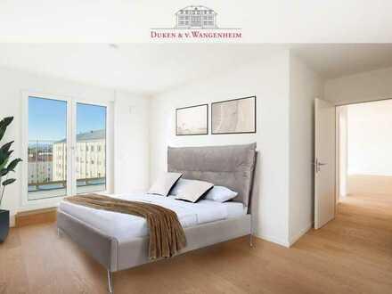 The Grand: Exklusive Penthouse Wohnung. Lichtdurchflutete 3-Zimmer Wohnung.