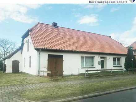 Klassisches Siedlungshaus mit reichlich großem Grundstück
