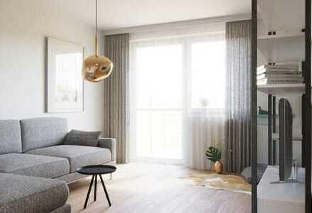 Helle 3 Zimmer Wohnung mit Wannenbad und Blick ins Grüne