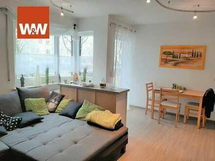 Kleine, aber feine 2-Zimmer-Wohnung mit Balkon