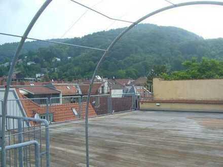 Stilvolle 5-Zimmer-Maisonette-Wohnung mit 70qm Terrasse und Einbauküche in Heidelberg