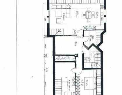 Gepflegte 3,5-Raum-Dachgeschosswohnung mit Einbauküche in Sendenhorst
