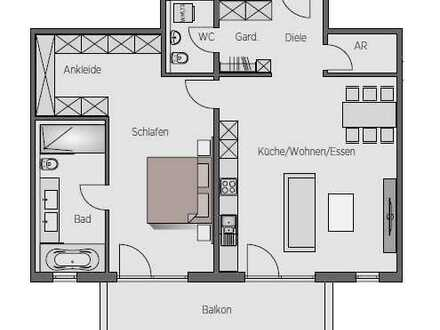 890 €, 94 m², 2,5 Zimmer