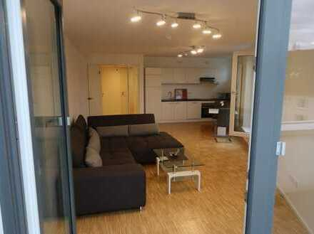 Voll möblierte 2-Zimmer-Neubauwohnung in Köln-Rodenkirchen