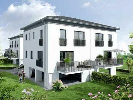 Bauplatz für eine Doppelhaushälfte ( ca. 122 m² Wfl. ) - Baugenehmigung vorhanden, sofort bebaubar.