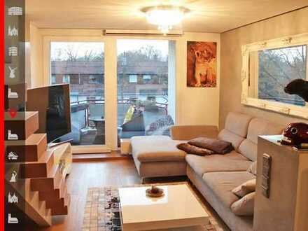 Komfortable 3-Zimmer-Maisonettewohnung zum Sofortbezug