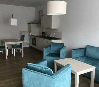 vollmöblierte 2 Zimmer-Wohnung im Neubau zu vermieten