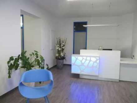 Büroeinheit bei Bedarf mit Lager/ Werkstatt und Stellplätzen - direkt am Südring, 3 Min. bis zur A72
