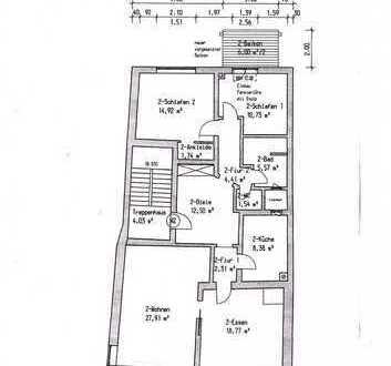 Modernisierte 4-Zimmer-Wohnung mit Balkon in Memmingen