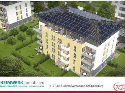 Beneidenswerte Wohnung mit riesiger Dachterrasse!