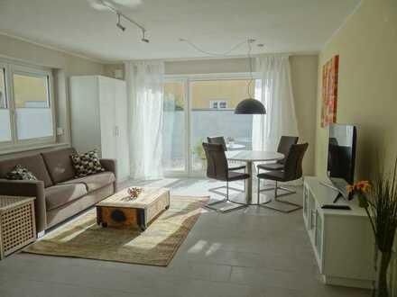 Sonniges, am Rand der Altstadt gelegenes, möbliertes Garten Appartement mit gehobener Ausstattung