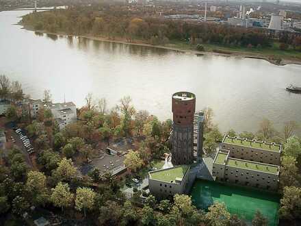 Familienfreundliches 5-Zimmer-Townhouse am Rhein - 4 Stockwerke und grandiose Dachterrasse