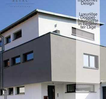 Luxuriöse Doppelhaushälfte in begehrter Lage- Zeitlose Eleganz trifft auf modernes Design