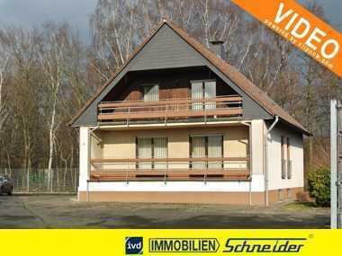 perfekt zum Wohnen und Arbeiten - Einfamilienhaus mit ca. 758 m² Gewerbehalle