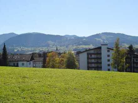 Einmalige Gelegenheit - renovierte 3-Zimmer Traumwohnung in ruhiger Wohnlage von Oberstaufen mit TG