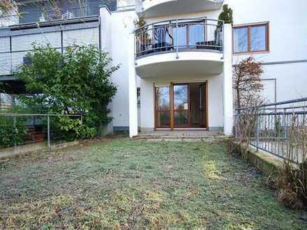 Helle Gartenwohnung mit Garage - in direkter Uni-Nähe