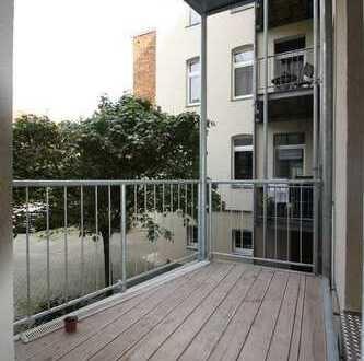 Frisch renovierte 3,5-Raumwohnung mit Balkon und Stellplatz