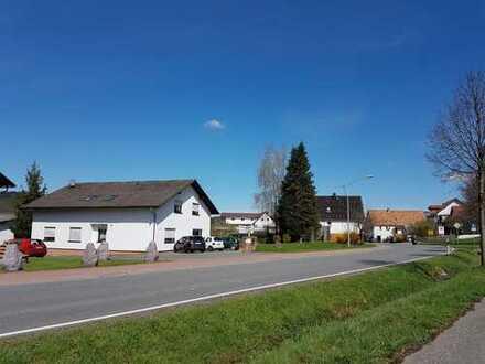 Großzügiges Zweifamilienhaus mit Werkshalle und ca. 2797 m² großem Grundstück